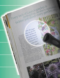 RIMLESS MAGNIFIER WITH LED LIGHT