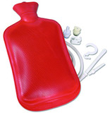 HOT WATER BOTTLE W/SYRINGE