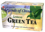 UNCLE LEE'S LEGENDS OF CHINA GREEN TEA LEMON 100BG