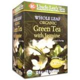 UNCLE LEE'S WHOLE LEAF ORGANIC GREEN TEA WITH JASMINE 18BG