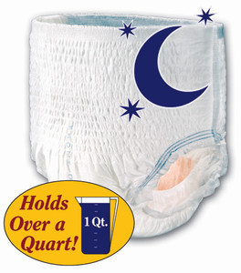 TRANQUILITY PREMIUM OVERNIGHT DISPOSABLE ABSORBENT UNDERWEAR -2