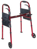 DELUXE FOLDING TRAVEL WALKER DRIVE MEDICAL
