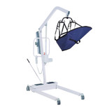 BATTERY POWERED PATIENT LIFT WITH SIX POINT CRADLE