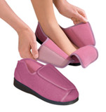 WOMENS EXTRA EXTRA WIDE WIDTH ADAPTIVE SLIPPERS DIABETIC