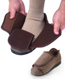 MENS EXTRA EXTRA WIDE SWOLLEN FEET ADAPTIVE SLIPPERS