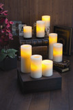 FLAMELESS WAX CANDLE 6""