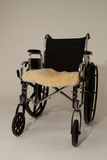 "SHEEPSKIN WHEELCHAIR PAD 16"" X 18"""
