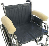 SKEEPSKIN WHEELCHAIR ARMRESTS 14""