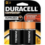 DURACELL D BATTERY 1.5V 2 PER PACK