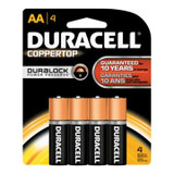 DURACELL AA BATTERY 1.5V 4 PER PACK