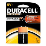 DURACELL 9V SINGLE BATTERY