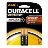 DURACELL AAA BATTERY 1.5V 2 PER PACK