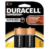 DURACELL C BATTERY 1.5V 2 PER PACK
