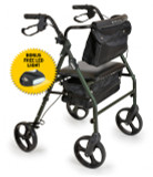 "BIOS 8"" ROLLATOR AND LED LIGHT COMBO"