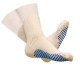 DIABETIC SLIPPER SOCKS WITH GRIP SOLES