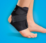 SYNERGY ANKLE GEL STABILIZER PREMIUM BRACE SMALL MEDIUM