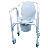 BASIC WHEELED COMMODE
