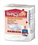SAMPLE OF TRANQUILITY EXTRA LARGE + BARIATRIC DISPOSABLE BRIEFS