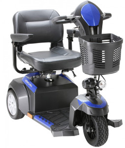 "Ventura 18"" 3 Wheel Folding Seat Mid Size Scooter - 1"
