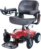 Cobalt X23 Standard Rear Wheel Power Wheelchair Red - 1