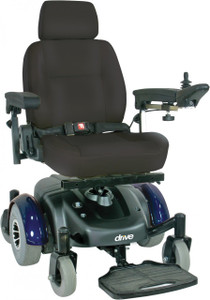 "Image 18"" Standard Mid Wheel Power Wheelchair - 1"