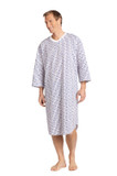POLY COTTON MEN'S NIGHT GOWN