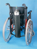 Oxygen Tank Holder For Wheel Chairs