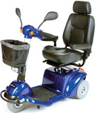"Pilot 18"" 3 Wheel Mid Size Scooter Blue - 1"