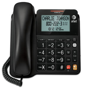 At And T Big Button Corded Phone