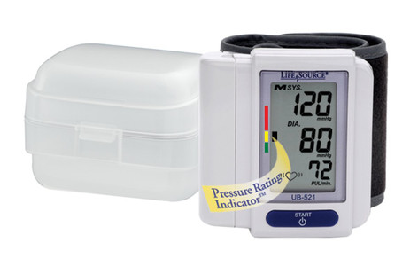 Life Source Digital Wrist Blood Pressure Monitor - 1