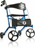Hugo Sidekick Side Folding Rollator With Seat - 1