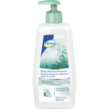 TENA BODY WASH AND SHAMPOO