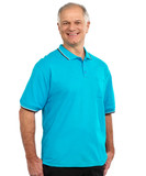 ADAPTIVE POLO SHIRT FOR MEN WITH SNAP BACK