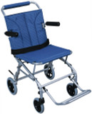 DRIVE MEDICAL SUPER LIGHT FOLDING TRANSPORT CHAIR WITH BAG