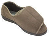 TENDER TOOTSIES MEN'S ULTIMATE COMFORT SLIPPER BROWN