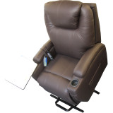 EZEE LIFE MERCURY LEATHER LIFT CHAIR HEAT AND MASSAGE