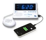 SONIC ALERT RISE AND SHINE ALARM CLOCK