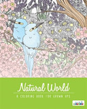 ADULT COLOURING BOOK NATURAL WORLD