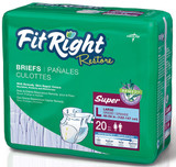 FITRIGHT RESTORE BRIEF CLOTH LIKE XLG C ASE