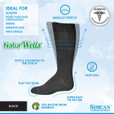 SIMCAN NUTURWELLS DIABETIC SOCKS FOR SENSITIVE FEET