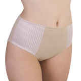 CAROLE MARTIN FULL COVER WOMEN UNDERWEAR SMALL BEIGE