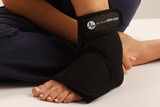 FOOT ANKLE WRAP HOT OR COLD THERAPY FROM ACTIVE WRAP LG XL