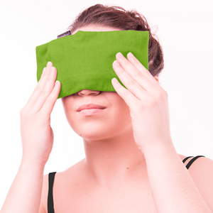 THERAPEAZ'S SINUS EYE MASK WITH FLANNEL WRAP
