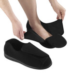 MENS EXTRA EXTRA WIDE SWOLLEN FEET ADAPTIVE SLIPPERS 9