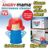 ANGRY MAMA MICROWAVE CLEANER AS SEEN ON TV