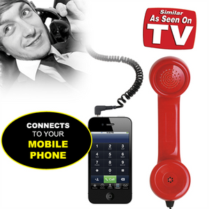 RETRO HANDSET FOR CELL PHONES