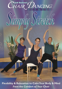 SIMPLY STRETCH CHAIR FITNESS DVD