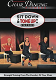 SIT DOWN AND TONE UP CHAIR FITNESS DVD