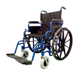18 INCH FULL FEATURED LIGHTWEIGHT WHEELCHAIR