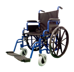 20 INCH FULL FEATURED LIGHTWEIGHT WHEELCHAIR